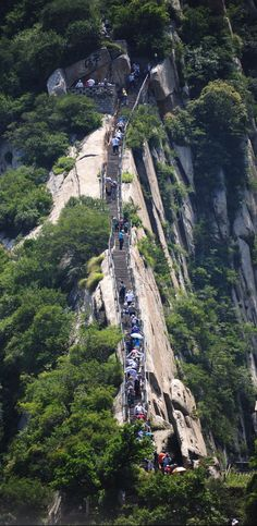 #Mount_Hua or #Hua_Shan in #China http://en.directrooms.com/hotels/country/1-12/