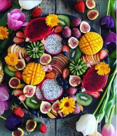 Dica linda e deliciosa para decorar sua mesa, seja ela de café da manhã ou de uma festa havaiana.