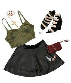 Quilted Skater Skirt Funky Soul  #Holidaygifts