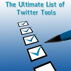 Welcome to the Ultimate List of Twitter Tools. This list was initially 5x – 10x the length it is today, however changes to the Twitter API have caused the majority of tools on this list to fa…