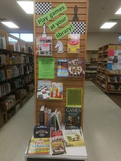 Board game library display