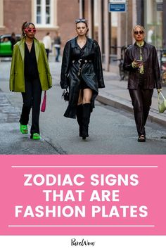 Not everyone wants to be a fashion plate, but some of us do, and per usual, astrology just might have something to say about why that is. #zodiacsigns #astrology #fashion Beauty Planet, Libra Love, Rei Kawakubo, Cozy Fashion, Jeremy Scott, City Chic, Fashion Plates, Vintage Handbags, Diane Von Furstenberg