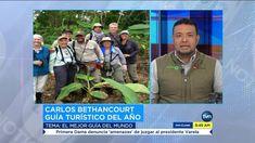 #panama Ganador de premio 'Mejor guía natural': Panamá tiene mucho que ... - TVN Panamá #orbispanama