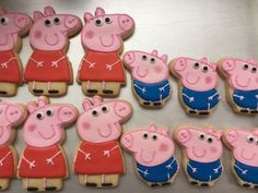 12 PEPPA PIG and/or GEORGE pig inspired by TodoDulceMiasKitchen