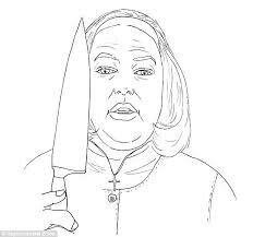 Scary Horror Coloring Pages - Bing images | Wood burning ...