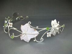 Season of Mists Circlet Princess Celtic Wedding Crown Headpiece Bridal Renaissance. $324.99, via Etsy.    A bit out of my price range, but lovely.