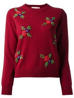COMME DES GARÇONS SHIRT Floral Sweater