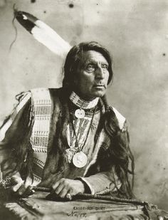 Chief Red Shirt - Oglala / Sioux  1925
