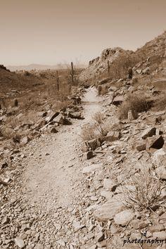 Piestewa Peak  Pheonix, Arizona  Copyright 2012 Jessa Deach