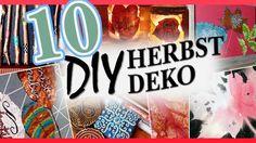 10 DIY HERBST/WINTERIDEEN | ROOM DECOR IDEAS 2017 | SELBER MACHEN - YouTube Room Decor, Decor Ideas, Neon Signs, Youtube, Diy Stuff, Diy, Projects, Ideas, Room Decorations