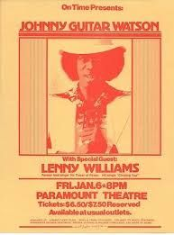 Johnny Guitar Watson Gig posters - Google Search