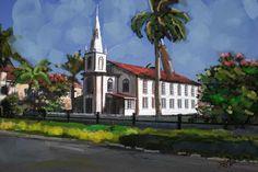 Smiths church, Guyana by James Mingo
