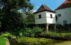 Das Taubenhaus beim Kloster Gräfinthal ... stammt aus dem Jahre 1766. Zwischen 1253 und 1260 gründete Gräfin Elisabeth von Blieskastel das Wilhelmitenkloster in Gräfinthal. Von den Klostergebäuden sind nur noch Ruinen geblieben. Die Klosterkirche wurde im Laufe der Zeit zu einer Wallfahrtskapelle umgebaut.