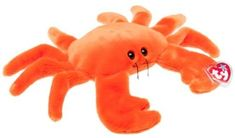 Ty Beanie Buddies Digger - Crab Orange: Ty beanie buddy Digger the crab. Beanie Babies Value, Rare Beanie Babies, Beenie Babies, Beanie Buddies, Ty Beanie Boos, Popular Toys, Vintage Trends, Holiday Wishes, Childhood Toys