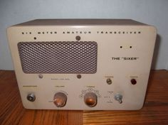 I remember these.  I was never able to make a 6M contact with it.  HEATHKIT HW-29A SIXER HAM TUBE RADIO TRANSCEIVER