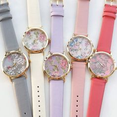 Floral  Trendy Watch