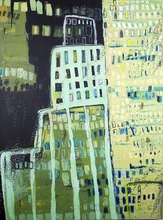 Night City I (left) by gilhooly