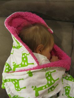 Hey, I found this really awesome Etsy listing at https://www.etsy.com/listing/93890122/giraffe-stroller-blanket-with-cuddle