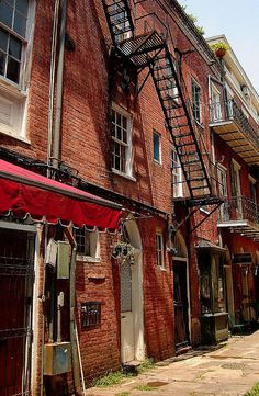 french quarter . new orleans . louisiana