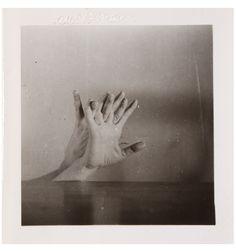 Hans Bellmer Untitled (Hands Triptych) 1933-34 Gelatin silver print 2 1/2 x 2 1/2 inches (6.4 x ...