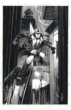 The Question Art by Tom Mandrake Dc Comics Heroes, Dc Comics Characters, Dc Comics Art, Comic Book Heroes, Comic Books Art, Comic Art, Batwoman, Batgirl, Nightwing