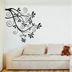 Butterfly Branch Wall Art from Next Wall Stickers