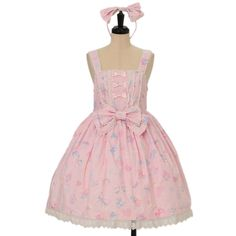 ♥ Angelic pretty ♥ Original print jumper skirt & headband http://www.wunderwelt.jp/products/detail10869.html ☆ ·.. · ° ☆ How to order ☆ ·.. · ° ☆ http://www.wunderwelt.jp/user_data/shoppingguide-eng ☆ ·.. · ☆ Japanese Vintage Lolita clothing shop Wunderwelt ☆ ·.. · ☆