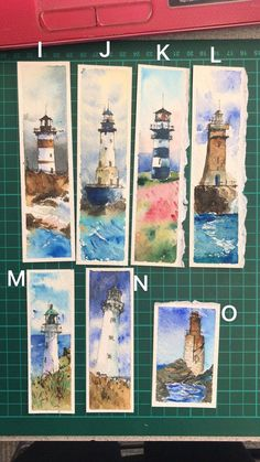 Hand drawing watercolor paintings Contact me choose your favourite bookmarks please Watercolor Drawing, Watercolor Cards, Watercolor Illustration, Watercolor Paintings, Watercolors, Creative Bookmarks, Handmade Bookmarks, Corner Bookmarks, Art Impressions Stamps