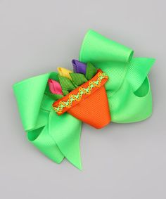 Take a look at this Pastel Tulip Bow Clip by Picture Perfect Hair Bows on #zulily today!
