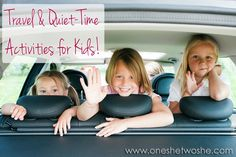 Traveling with six kids is no easy task. That's why I'm always on the look-out for great travel and quiet time activities for kids of all ages.