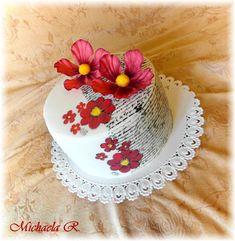 Birthday cake by Mischell