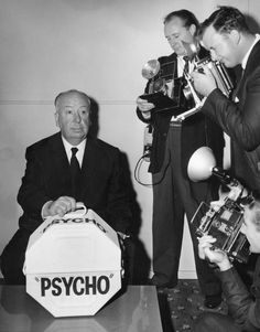 Alfred Hitchcock. http://en.wikipedia.org/wiki/Alfred_Hitchcock