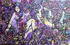 Cuban Artist Zaida Del Rio  Untitled (80 x 130 cm) $3900