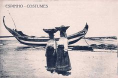 SN - Portugal. Espinho - Costumes - Editor Tabacaria Arlindo Lopes - Dim. 14x9 cm - Col. M. Chaby.