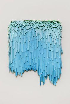 popsicle stick art. So cool.