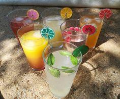 Créer des marque-verres fruités en plastique fou : tuto