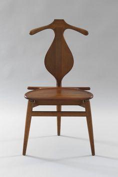 Hans Wegner (Danish, 1914–2007) Valet Chair  Manufacturer:     Johannes Hansen, Denmark Date:     c. 1950