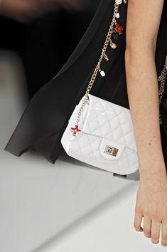 Chanel white handbag