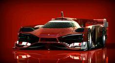 Ferrari For LeMans On Behance
