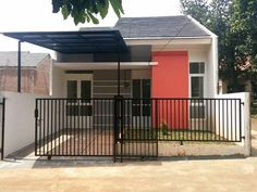 21 Model Rumah Sederhana Tapi Kelihatan Mewah Terbaru 2018 | Dekor Rumah Roof Design, Exterior Design, Home Room Design, House Design, House Extensions, Little Houses, Minimalist Home, Apartment Design, House Rooms