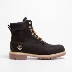 TIMBERLAND -Timberland 6'' Boot Black -THE SHAPE OF THE SEASON