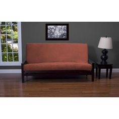 Siscovers Posh Futon Cover Size: Queen, Upholstery: Jet Set