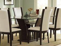 Daisy Glass Top Dining Table by Homelegance by Home Elegance, http://www.amazon.com/dp/B005GPFKTK/ref=cm_sw_r_pi_dp_HNiWrb1TX3MEN
