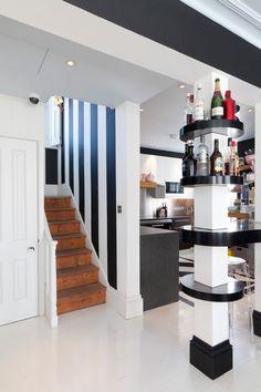 West London estate agents Domus Nova sent along photos of some of their latest properties. Room Decor, Decor, House, Interior Columns, Columns Decor, Interior, Column Design, Home Decor, Living Room Designs