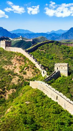 Great Wall of China on summer sunny day, Jinshanling section near Beijing    |   21 Magnificent Photos That Will Place China On Your Bucket List