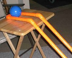 Adaptation for bowling (fits on wheelchair tray)