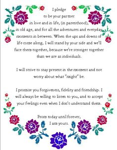 Nondenominational wedding vows pinterest crying wedding vows wedding vows wednesday 11613 lyssabeths wedding officiants visit our website junglespirit Choice Image
