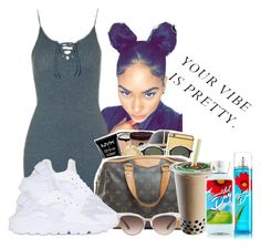 """""""Something Simple"""" by laiixo ❤ liked on Polyvore featuring Topshop, NIKE and Gucci"""
