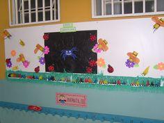 mural bichinho de jardim