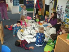 Pajama Day activities between multiple classrooms Daycare Crafts, Daycare Ideas, Classroom Projects, Classroom Ideas, The Napping House, Preschool Activities, Alphabet Activities, Pj Day, Teddy Bear Day